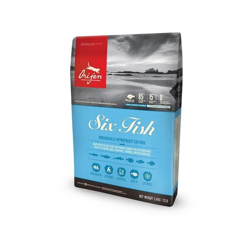 ORIJEN 渴望 6種魚乾貓糧 1.8kg/5.4kg