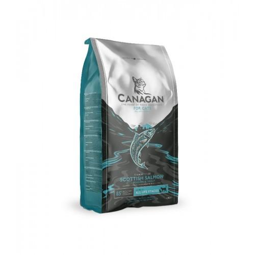 CANAGAN 原之選 無穀物 蘇格蘭三文魚乾貓糧