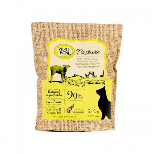 WISHBONE 威斯邦 Pasture 野牧羊無穀香草全貓配方乾貓糧