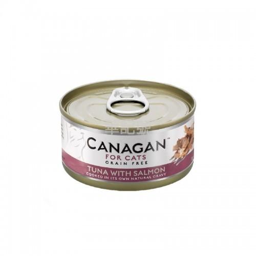 CANAGAN 原之選 吞拿魚伴三文魚配方貓罐頭