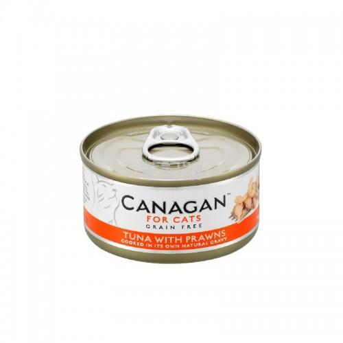 CANAGAN 原之選 吞拿魚伴大蝦配方貓罐頭