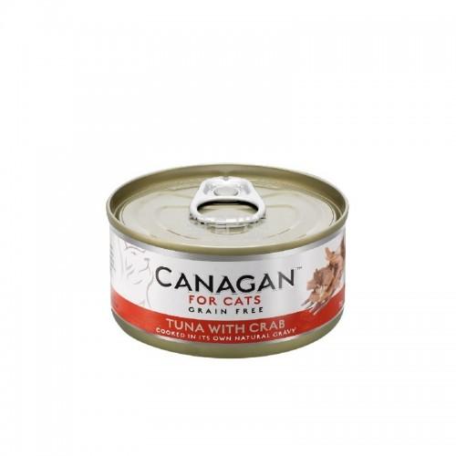 CANAGAN 原之選 吞拿魚蟹肉配方貓罐頭