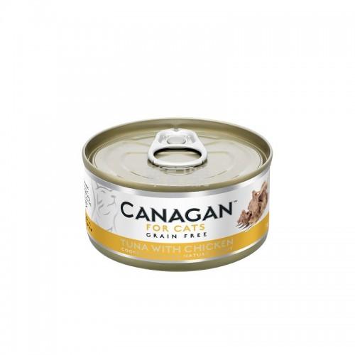 CANAGAN 原之選 吞拿魚伴雞肉配方貓罐頭