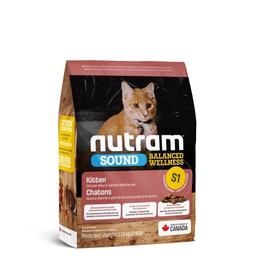 NUTRAM Sound S1 幼貓糧 1.13 Kg