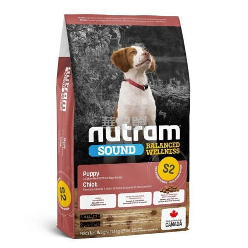 NUTRAM Sound S2 幼犬糧 2 Kg/11.4 Kg