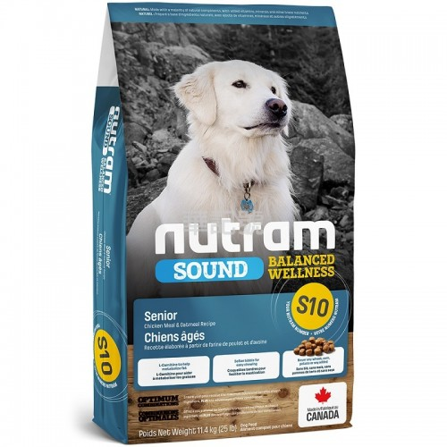 NUTRAM Sound S10 老犬糧 2 Kg/11.4 Kg