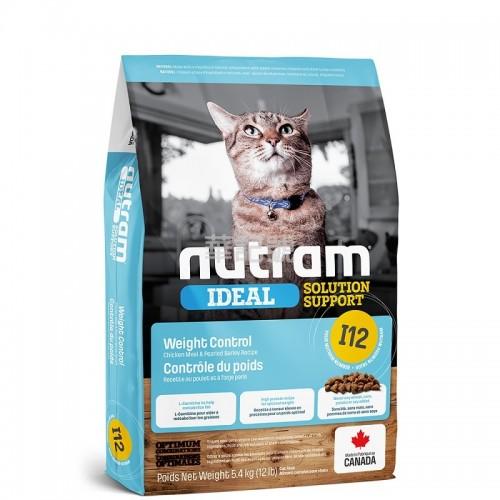 NUTRAM Ideal I12 控制體重貓糧 1.13 Kg/5.4 Kg