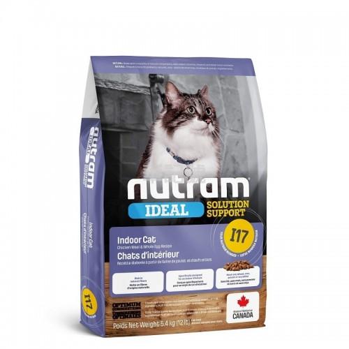 NUTRAM Ideal I17 室內控制掉毛貓糧 1.13 Kg/5.4 Kg
