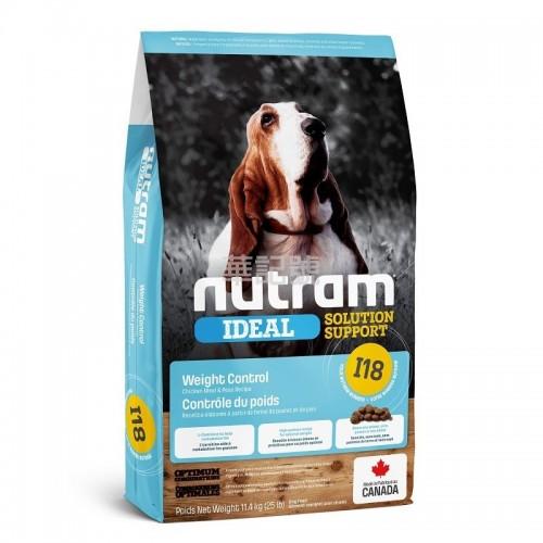 NUTRAM Ideal I18 控制體重狗糧 2 Kg/11.4 Kg