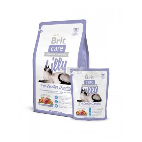 BRIT Care Lily 敏感腸胃配方 無穀物羊肉三文魚乾貓糧