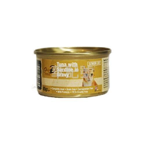GOLD-D 吞拿沙甸魚濃湯 主食老貓罐頭 85g