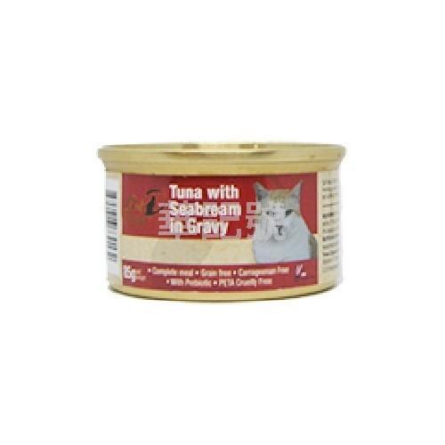 GOLD-D 吞拿魚鯛魚濃湯 主食貓罐頭 85g