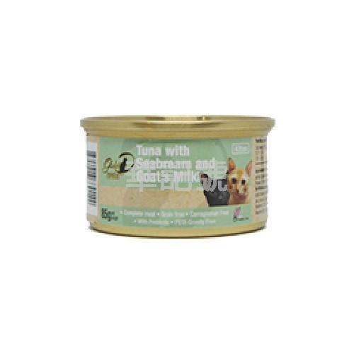 GOLD-D 吞拿魚, 鯛魚, 山羊奶 主食幼貓罐頭 85g
