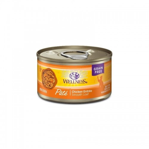 WELLNESS Complete Health Pâté 肉醬 無穀物純鮮雞肉貓罐頭 85 G/156 G