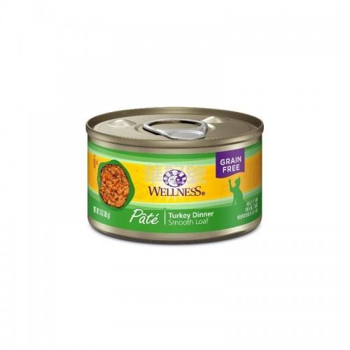 WELLNESS Complete Health Pâté 肉醬 無穀物純鮮火雞貓罐頭 85 G/156 G