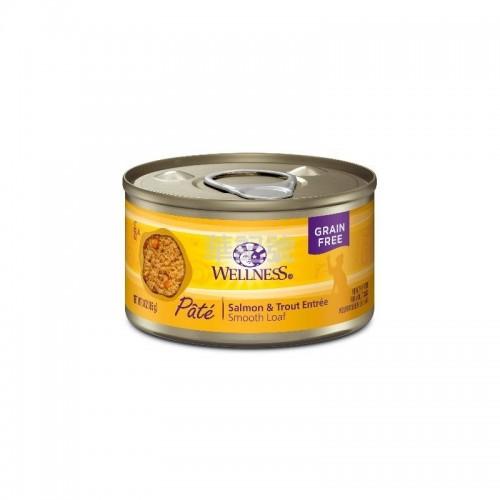 WELLNESS Complete Health Pâté 肉醬 無穀物海魚配方貓罐頭 85 G/156 G