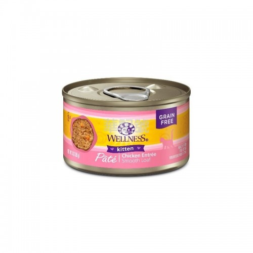 WELLNESS Complete Health Pâté 肉醬 無穀物雞味幼貓配方貓罐頭 85 G