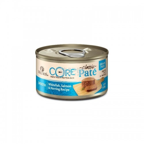 WELLNESS Core Pâté 肉醬 無穀物 海洋魚貓罐頭 156 G