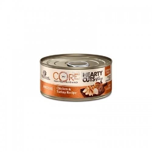 WELLNESS Core Hearty Cuts 厚切 無穀物雞肉火雞貓罐頭 156 G