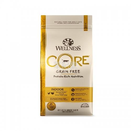 Wellness Core 無穀物 室內除臭配方乾貓糧 5 Lb/11 Lb