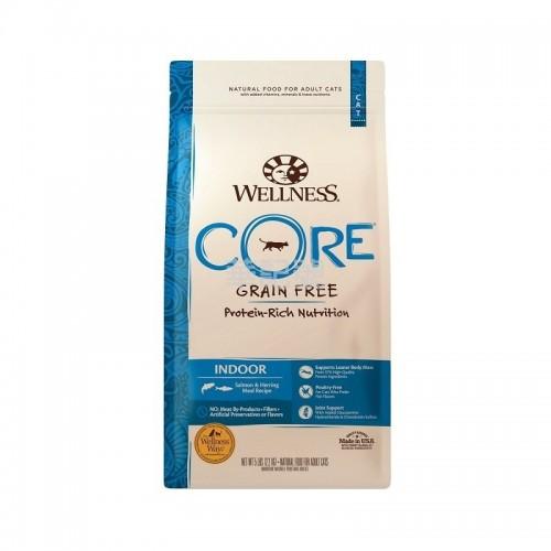 Wellness Core 無穀物 室內貓海洋魚配方乾貓糧 5 Lb/11 Lb