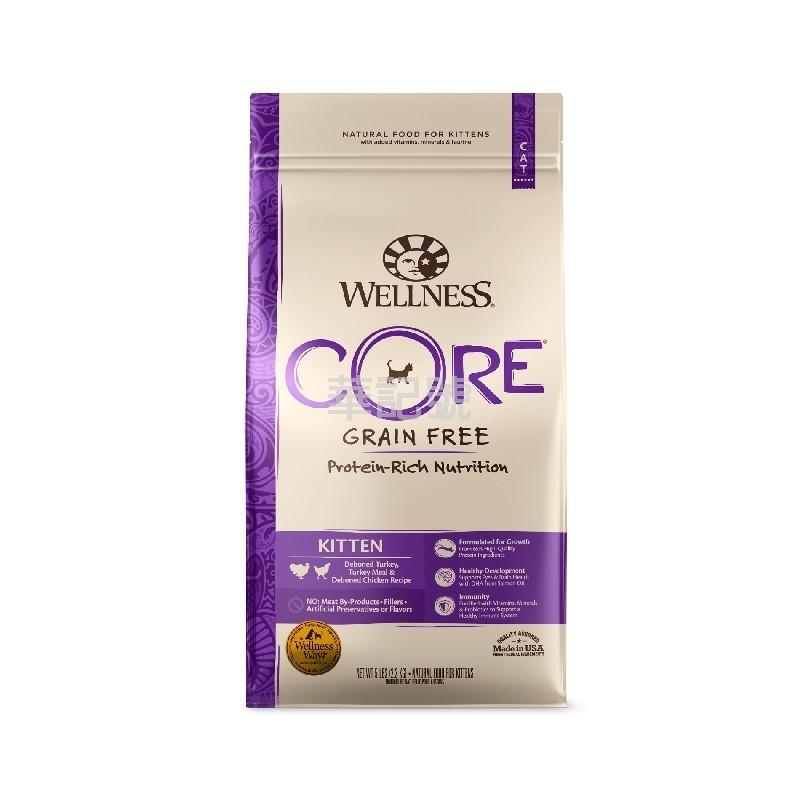 Wellness Core 無穀物 幼貓成長配方乾貓糧 2 Lb/5 Lb