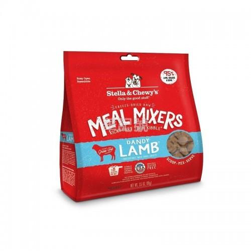 STELLA & CHEWY'S 羊羊得意(羊肉配方)凍乾生肉狗糧伴侶 3.5 Oz/18 Oz