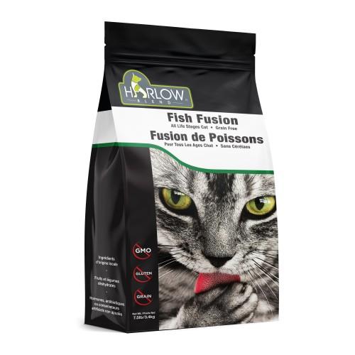 HARLOW BLEND / HOLISTIC BLEND 楓葉 無穀物5種海洋鮮魚蔬果全貓乾糧 Grain Free Marine 5 Dry Cat Food