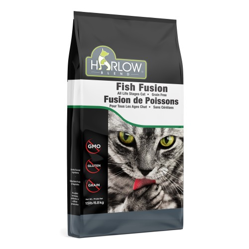 HARLOW BLEND / HOLISTIC BLEND 楓葉 無穀物5種魚全貓糧 Grain Free Marine 5 Dry Cat Food