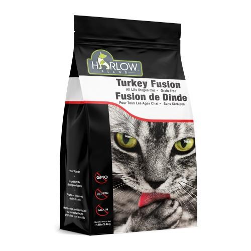 HARLOW BLEND / HOLISTIC BLEND 楓葉 無穀物火雞,雞,海洋鱈魚,蔬果全貓乾糧 Grain Free Turkey & Chicken Dry Cat Food