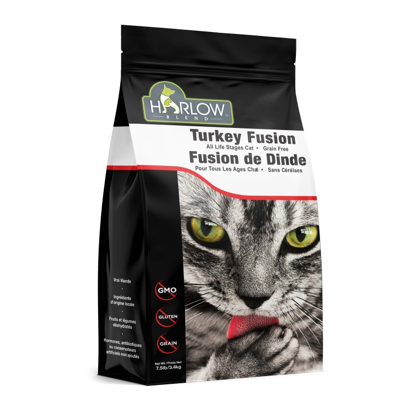 HARLOW BLEND 楓葉 無穀物火雞雞肉全貓糧 Grain Free Turkey & Chicken Dry Cat Food