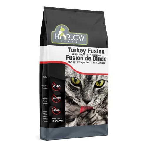 HARLOW BLEND 楓葉 無穀物火雞雞肉全貓糧 Grain Free Turkey & Chicken Dry Cat Food