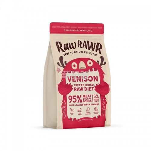 RAW RAWR 冷凍脫水糧 鹿肉 乾狗糧 400G / 3 x 400G