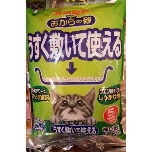 貓砂樂園 日本大塚豆腐貓砂 (5公升)